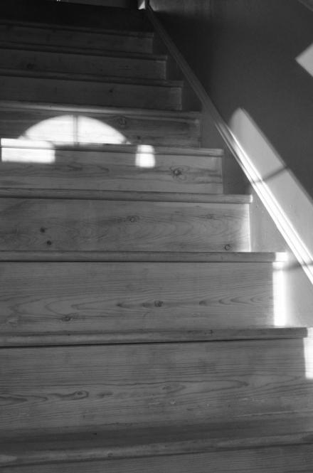 Door Lit Stairs